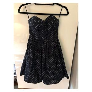 Jack Wills Strapless Dress